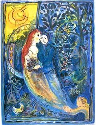 coppia azzurra sole