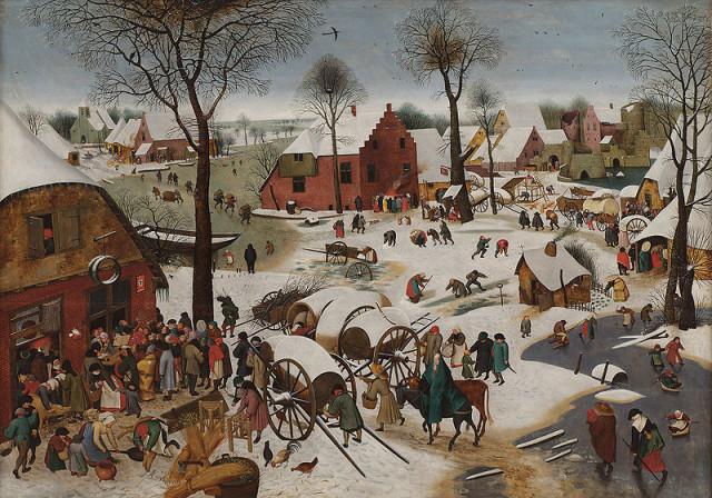 800px-Pieter_Brueghel_de_Jonge_-_Volkstelling_te_Bethlehem,_1605-1610