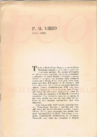 Opuscolo commemorativo stampato 2