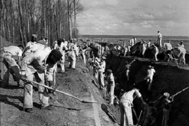 schiavi ai lavori forzati -