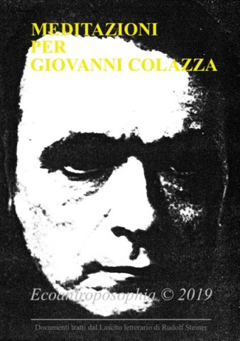 Rudolf Steiner copertina Meditazioni Colazza copia