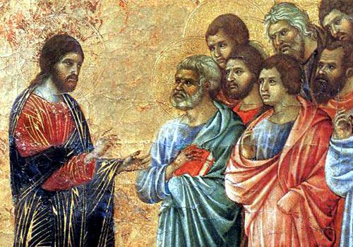 Cristo tra gli apostoli